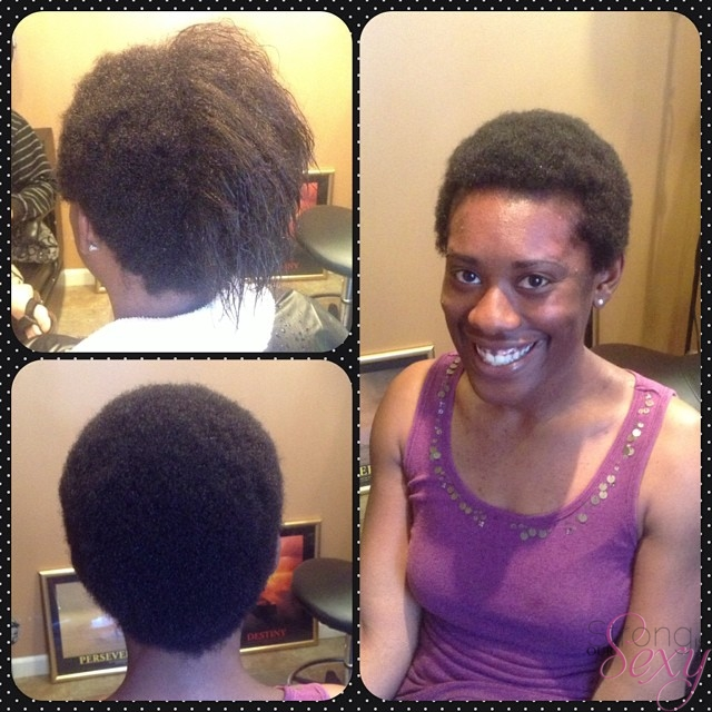 Naturally Beautiful. 3. Big Chop April 2014