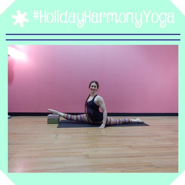 holidayharmonyyoga day 18 splits