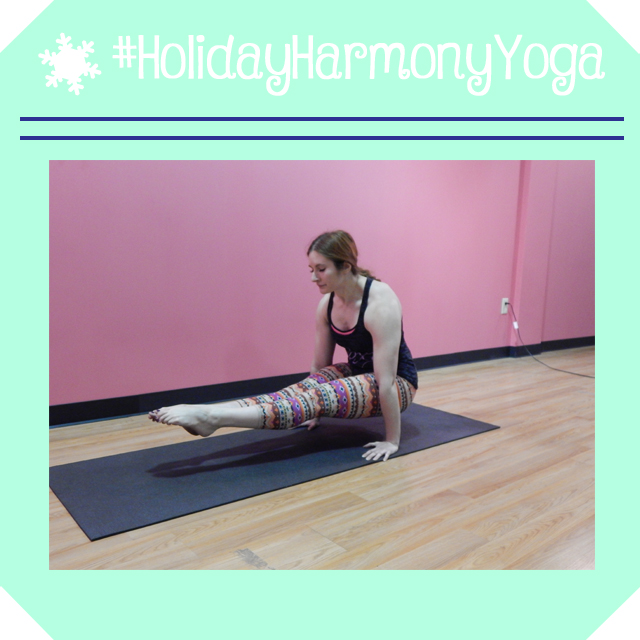 holidayharmonyyoga day 12 l sit