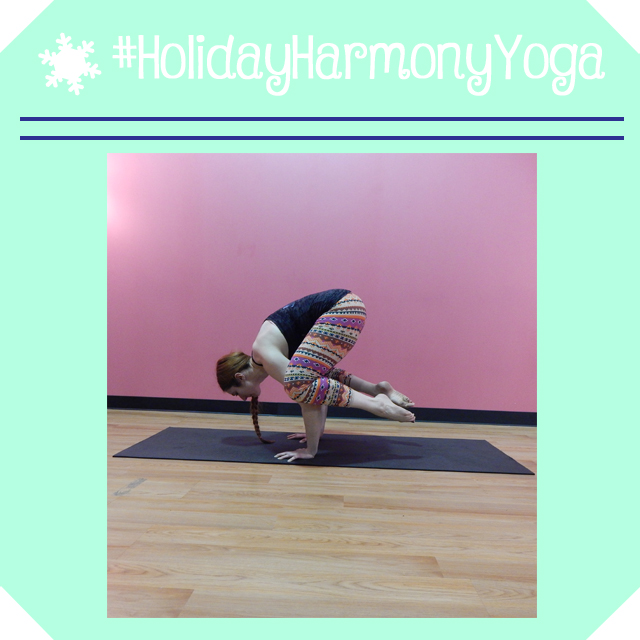 holidayharmonyyoga day 9 crow