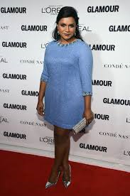 Mindy Kaling at the Glamour Women of the Year Awards red carpet