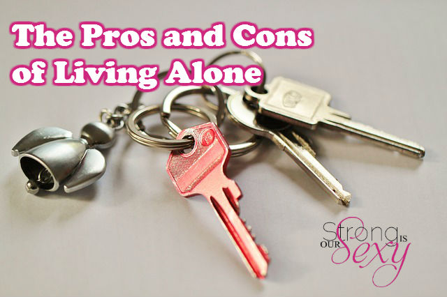 the pros and cons of living alone