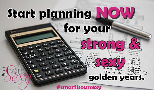 Start planning now for your strong and sexy golden years with a Roth IRA