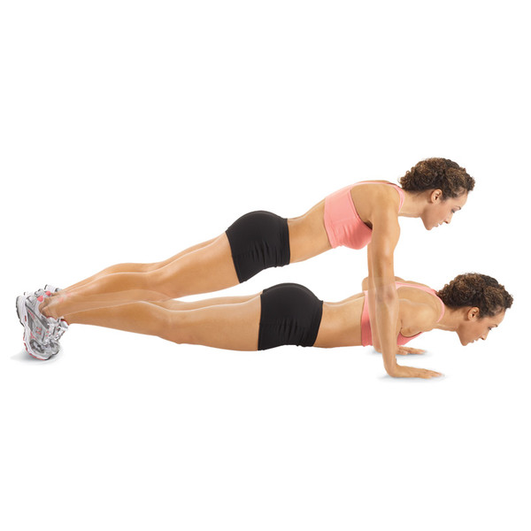 pushups are an exercise you can do away from the gym