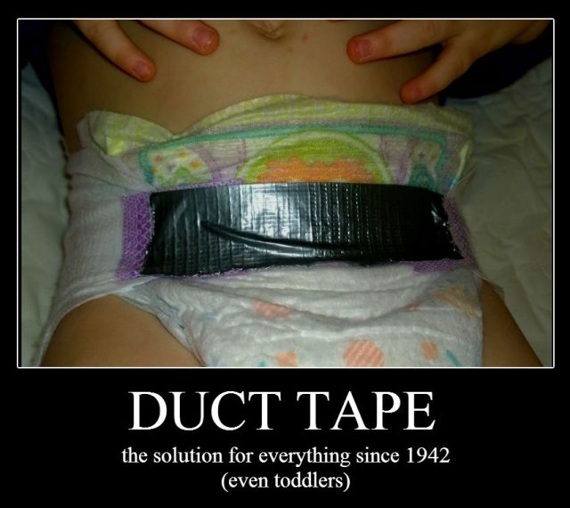 toddler tool kit duct tape diaper belt
