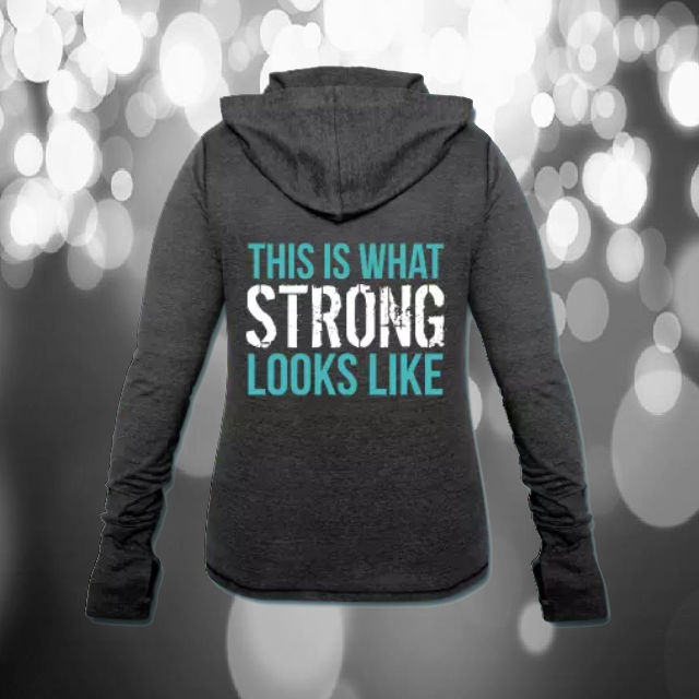 this is what Strong looks like hoodie